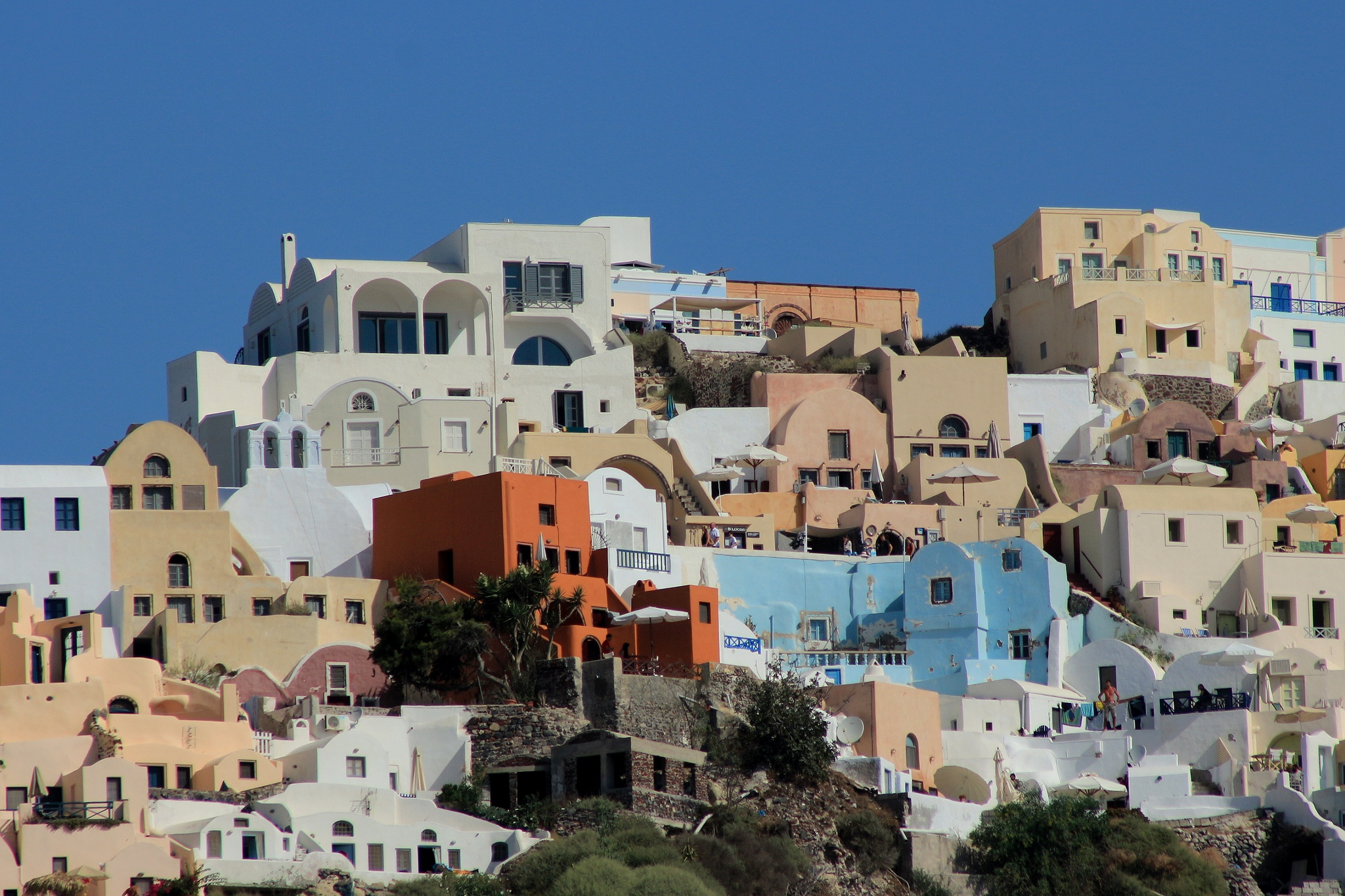 Oia , Santorini by katze
