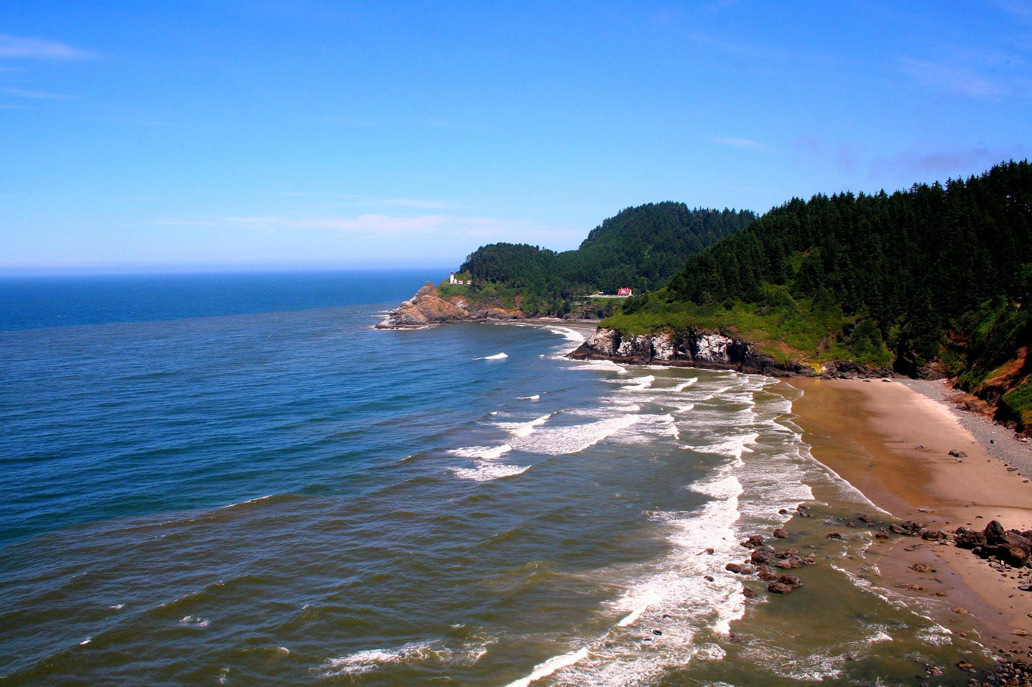 Heceta Head Lighthouse, Oregon coast by katze