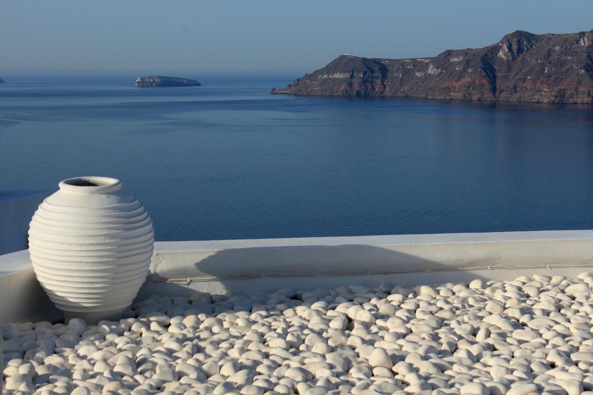 nice view, Oia Santorini by katze