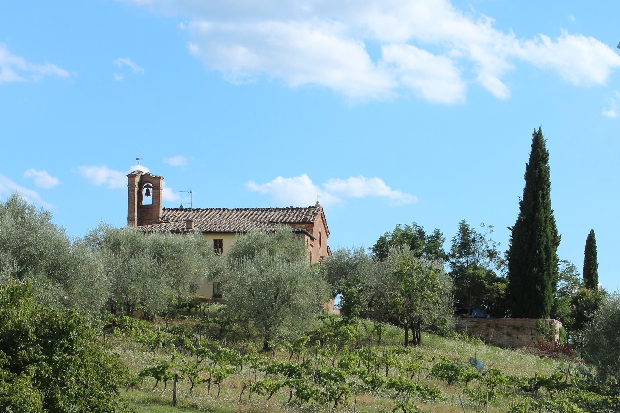 Photo in Landscape #church #toscana #italy