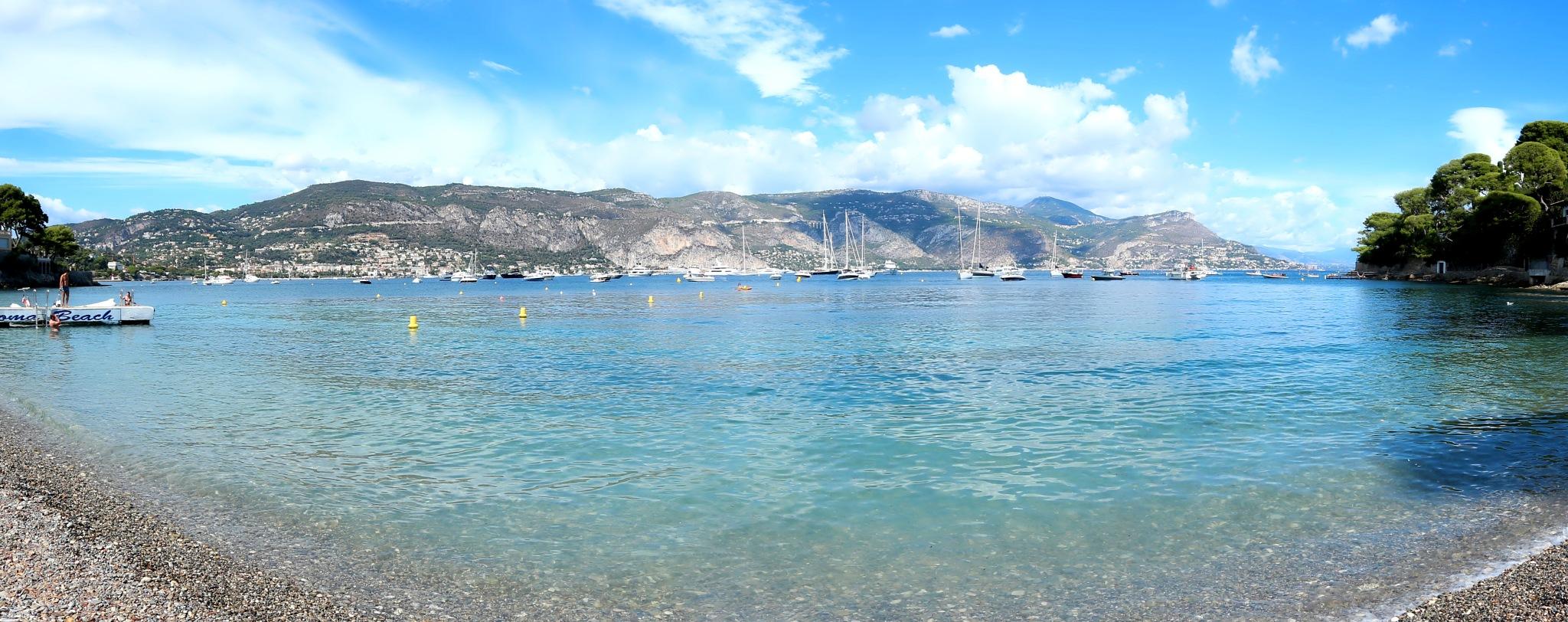 Paloma beach, Saint Jean Cap Ferrat by katze