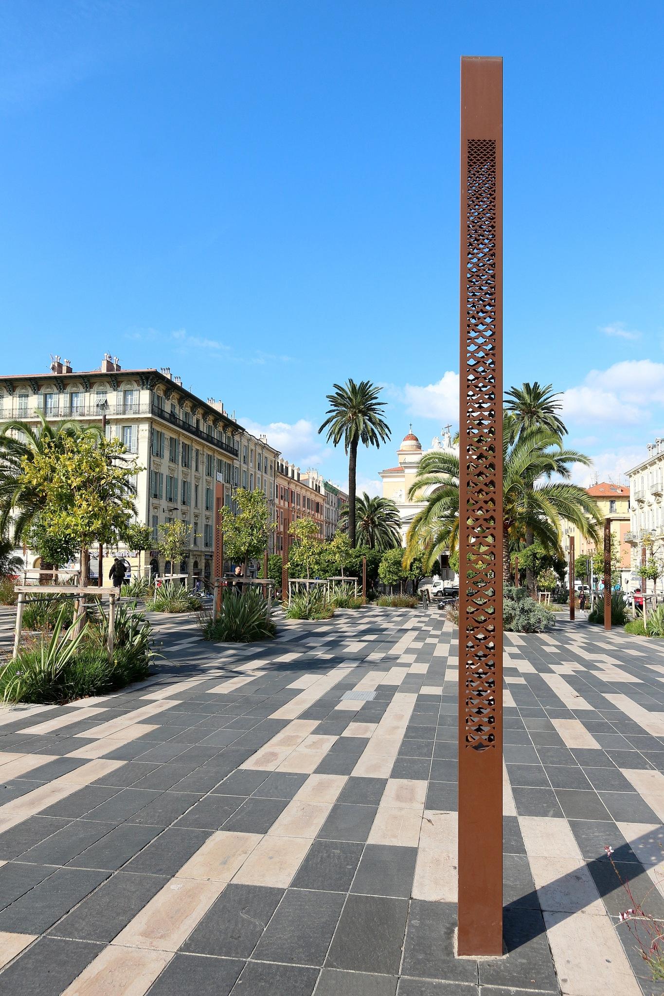 Esplanade de la Bourgada, Nice by katze