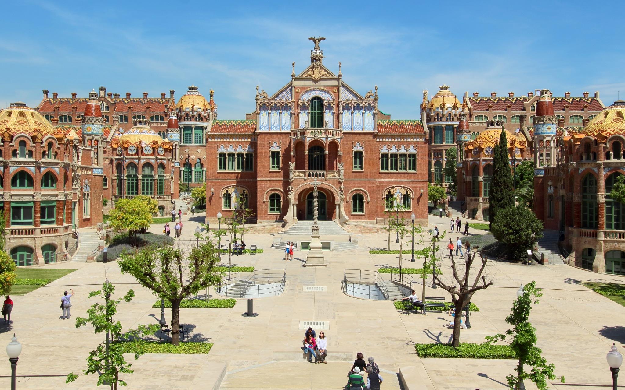 Hôpital San Pau, Barcelone by katze