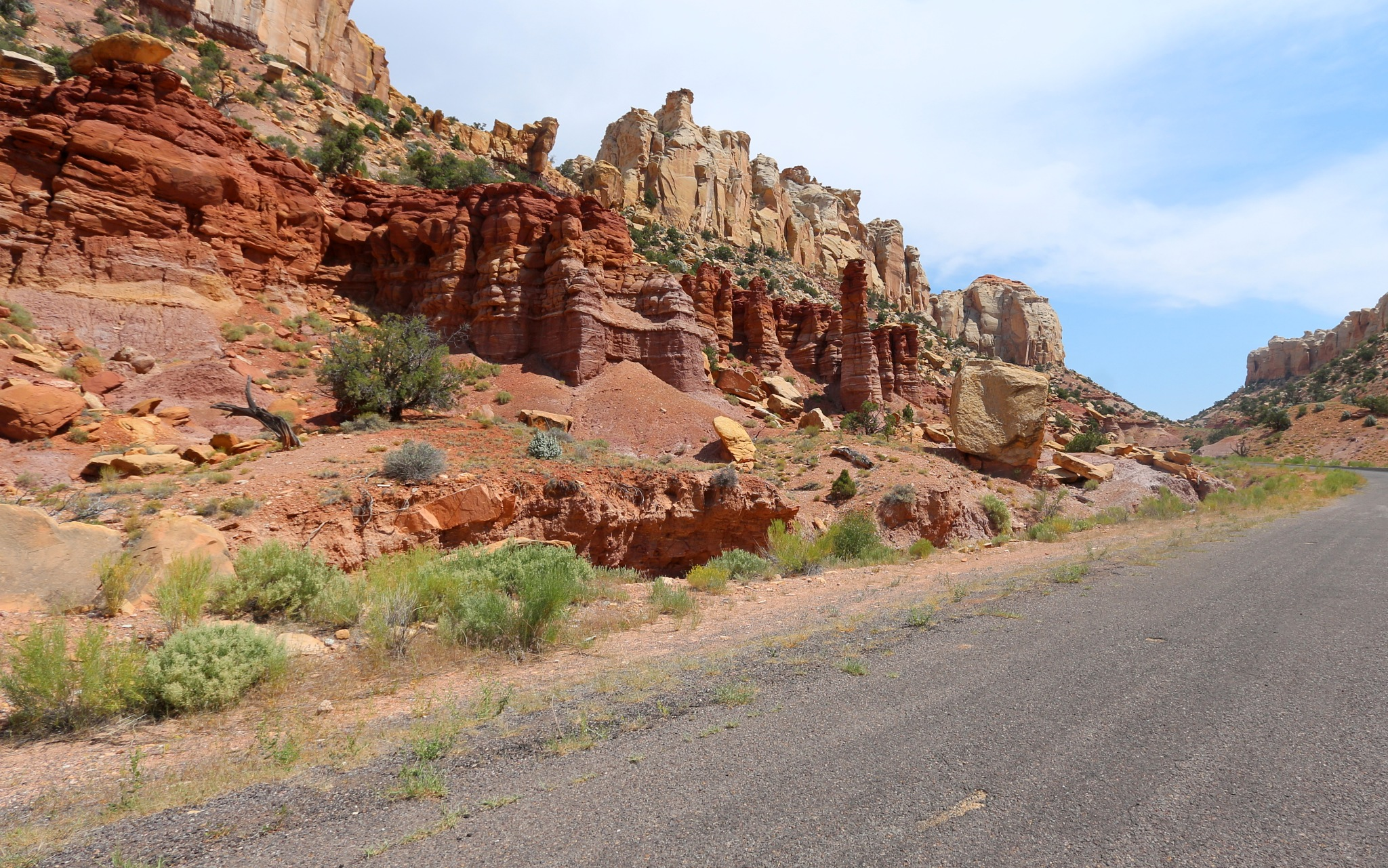Burr trail road, UT by katze