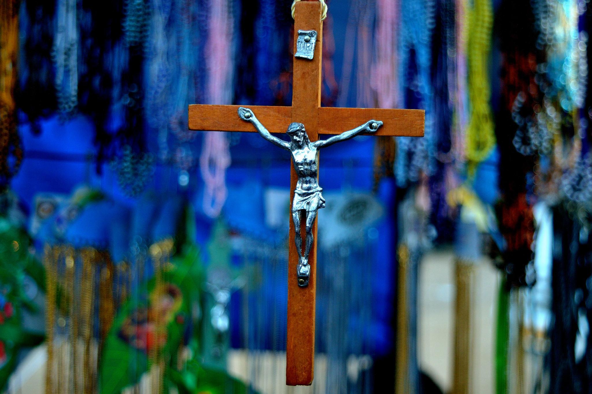 Jesus on cross!!! by Sudharshan