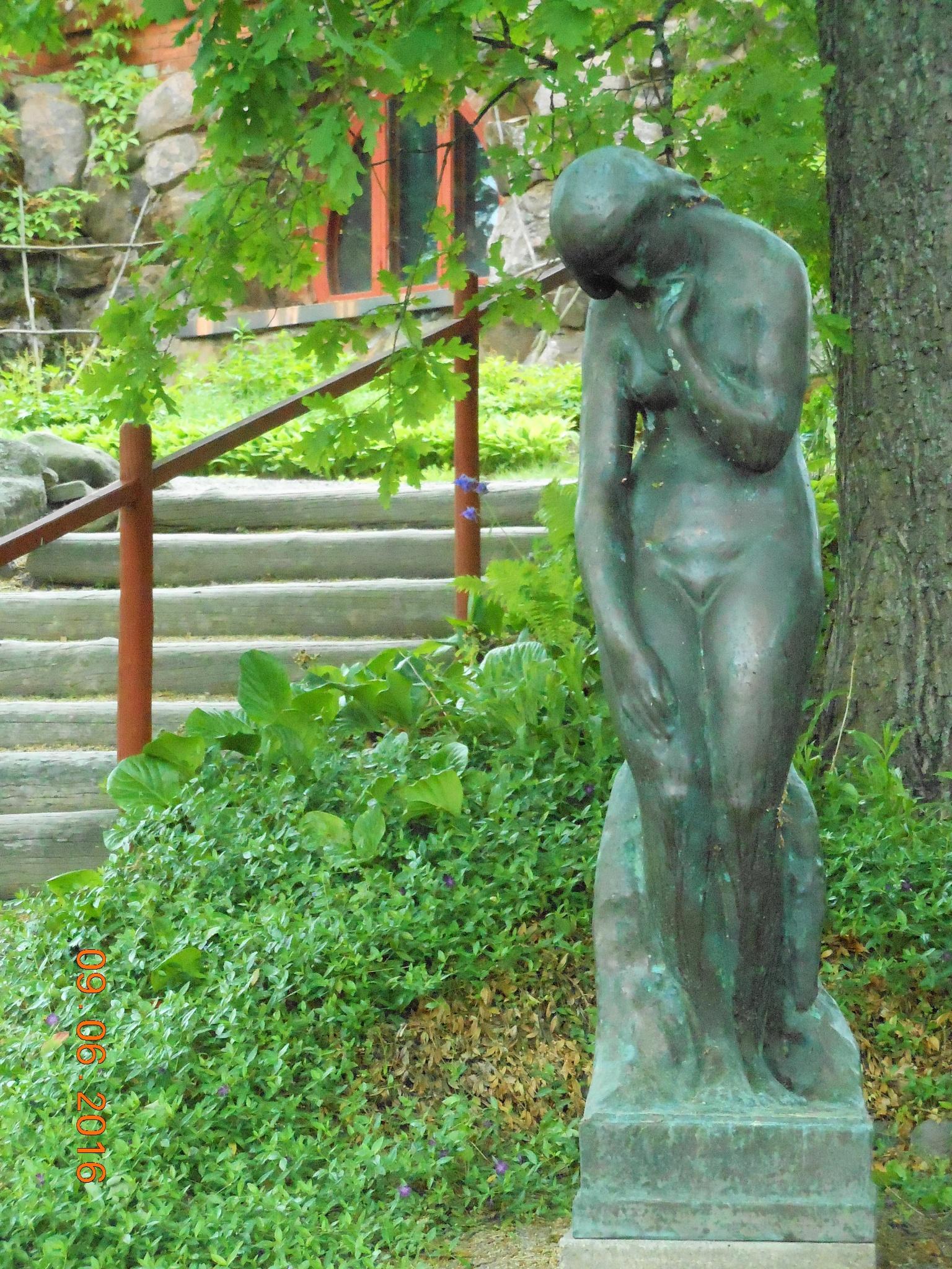 A Statue by Emil Wikström in Pirkanmaa District by ailahokkanen59