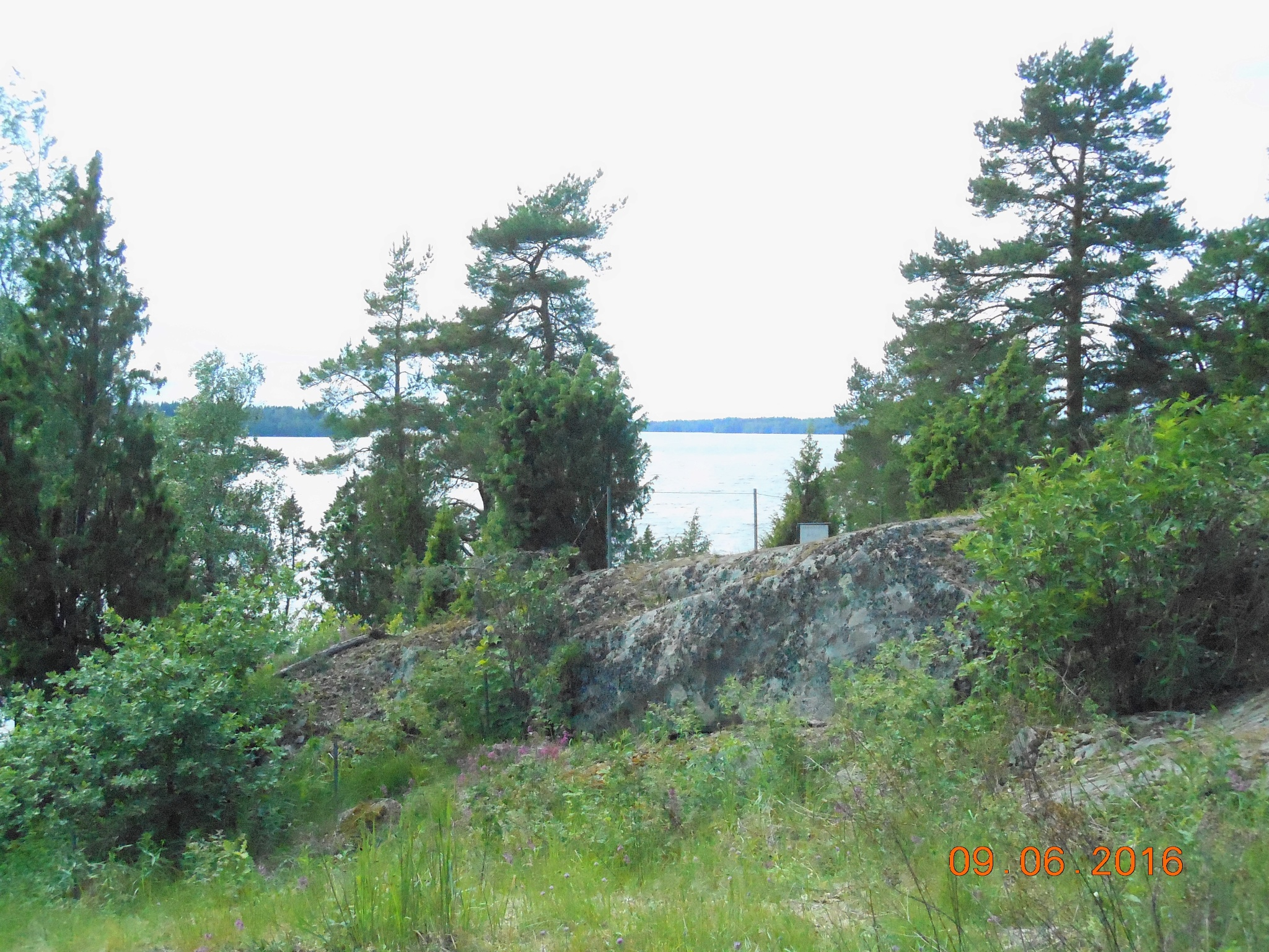 The Landscape in Visavuori, Finland to Vanajavesi Lake by ailahokkanen59