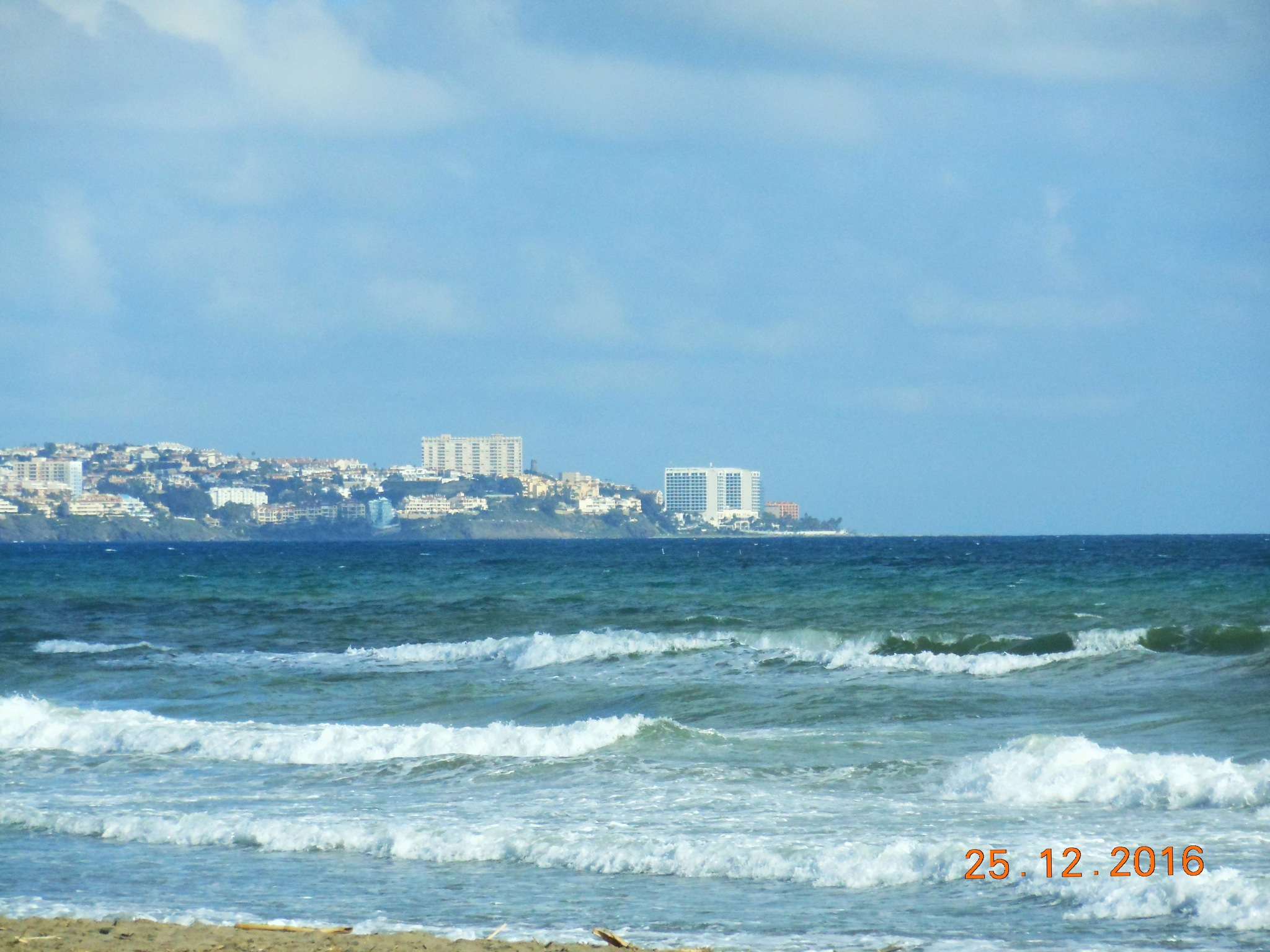 A windy day in a sea coast in Andalusia´s winter time by ailahokkanen59