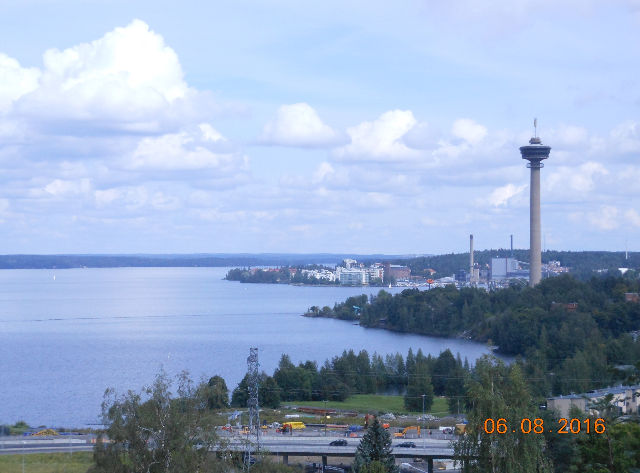 Näsinneula Water Tower in Tampere by ailahokkanen59