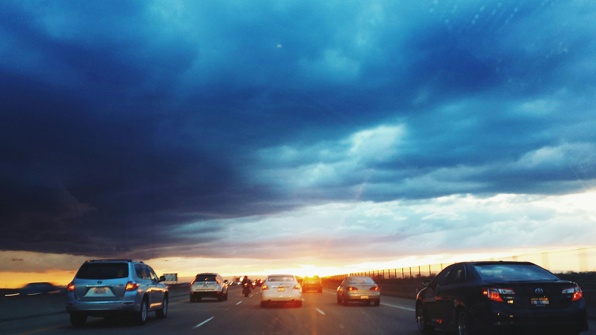 Sunset by ekaterina.vanderhaeghen