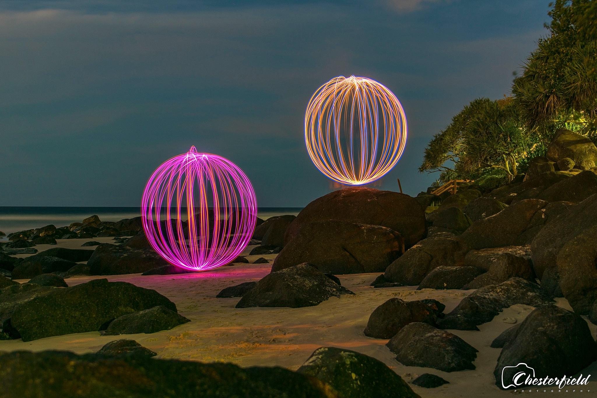 Balls of light by Dchester1001