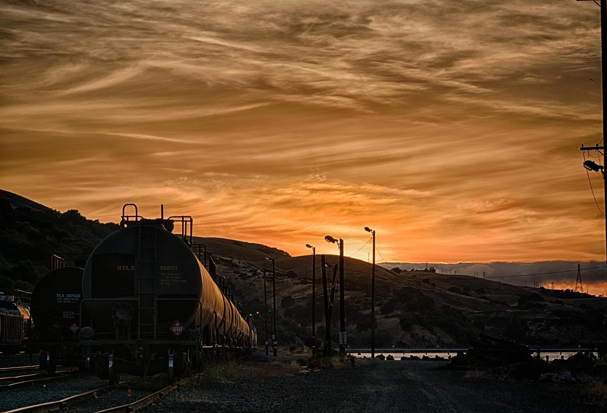 Photo in Landscape #sunset #ca #carquinez