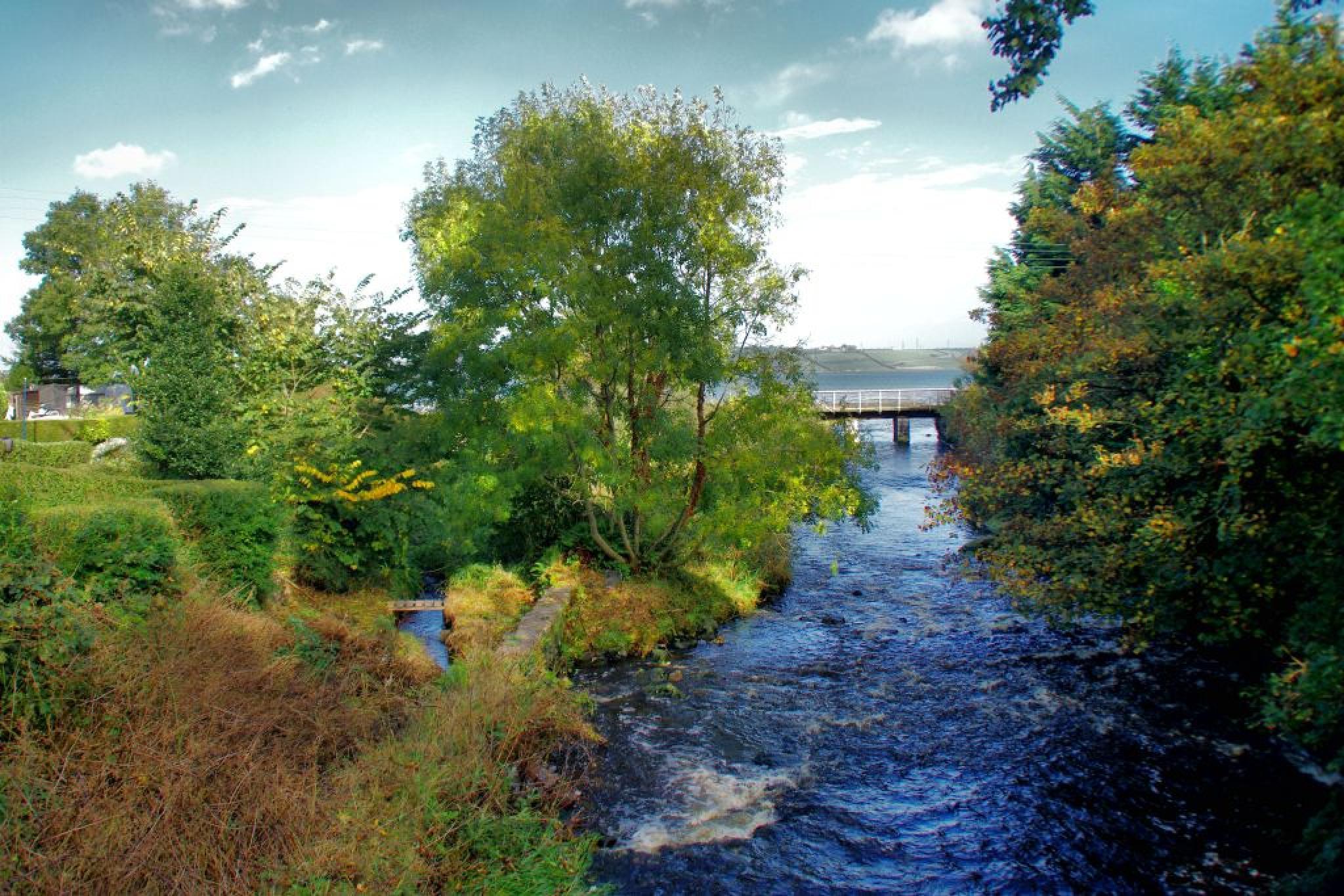 Glynn River this autumn by David Stewart