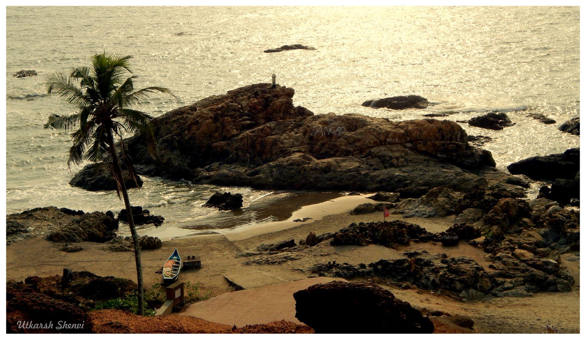 Vagator Beach ,Goa by Utkarsh Shenvi