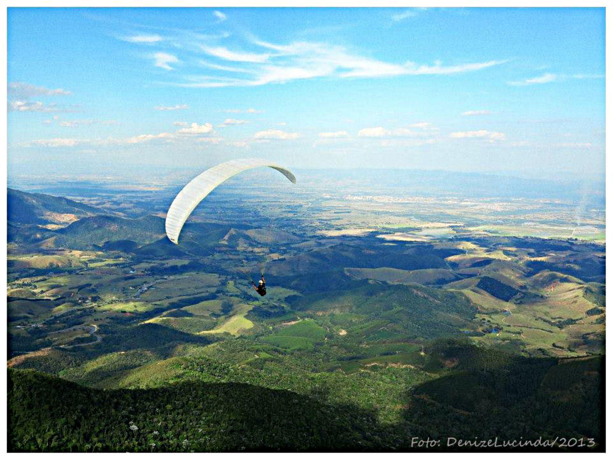 Pico Agtudo - Paraglider by denizelucinda