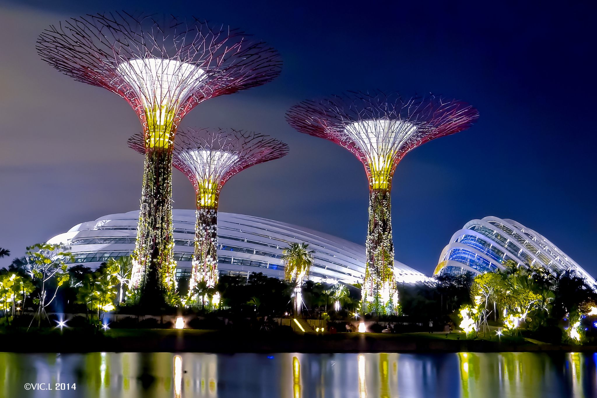 Garden By The Bay by VIC.L