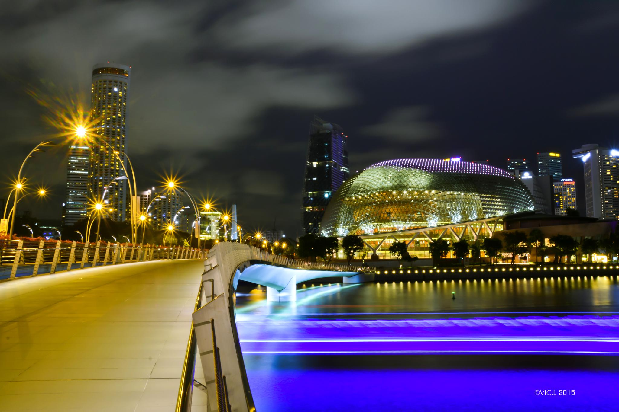 Boat Trail @ Singapore River by VIC.L