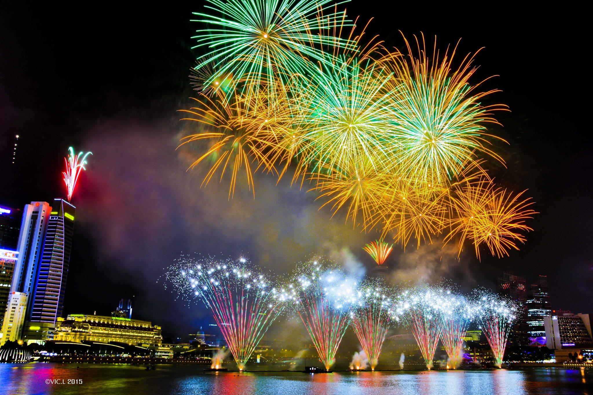 Fireworks by VIC.L