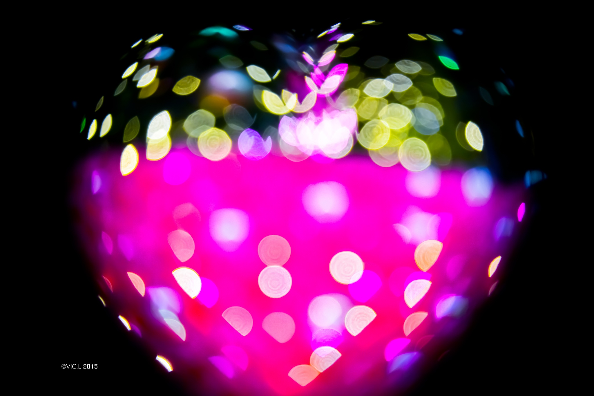 Colorful Heart by VIC.L