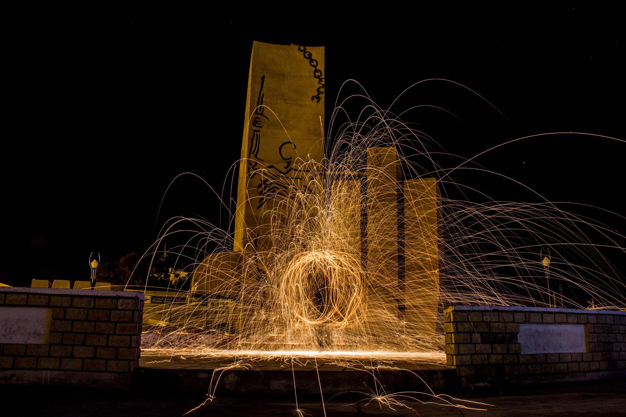 Photo in Fine Art #the light circle #msila #mounté #algeria #mountasser billeh
