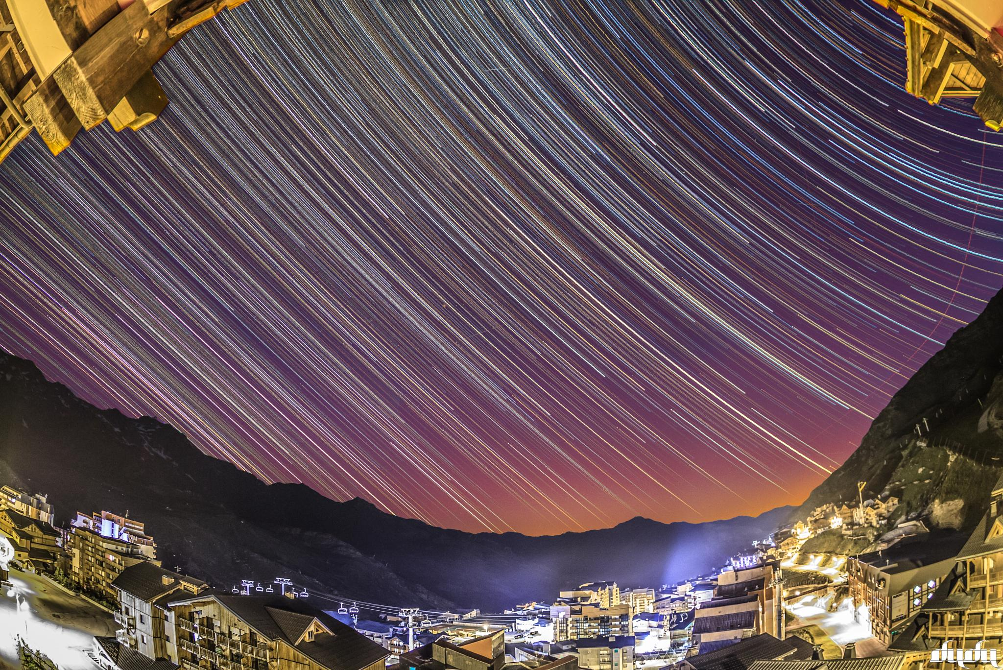 700 shots over Val thorens by DuDu2300