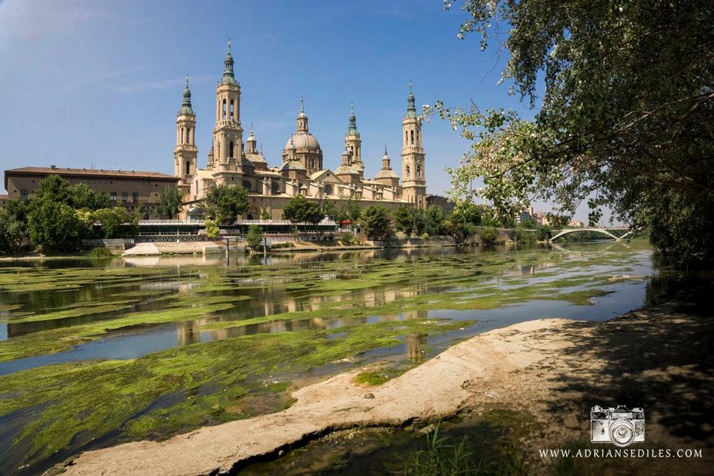 Bajo caudal del Ebro en Zaragoza - Adrian Sediles Embi by adriansediles7