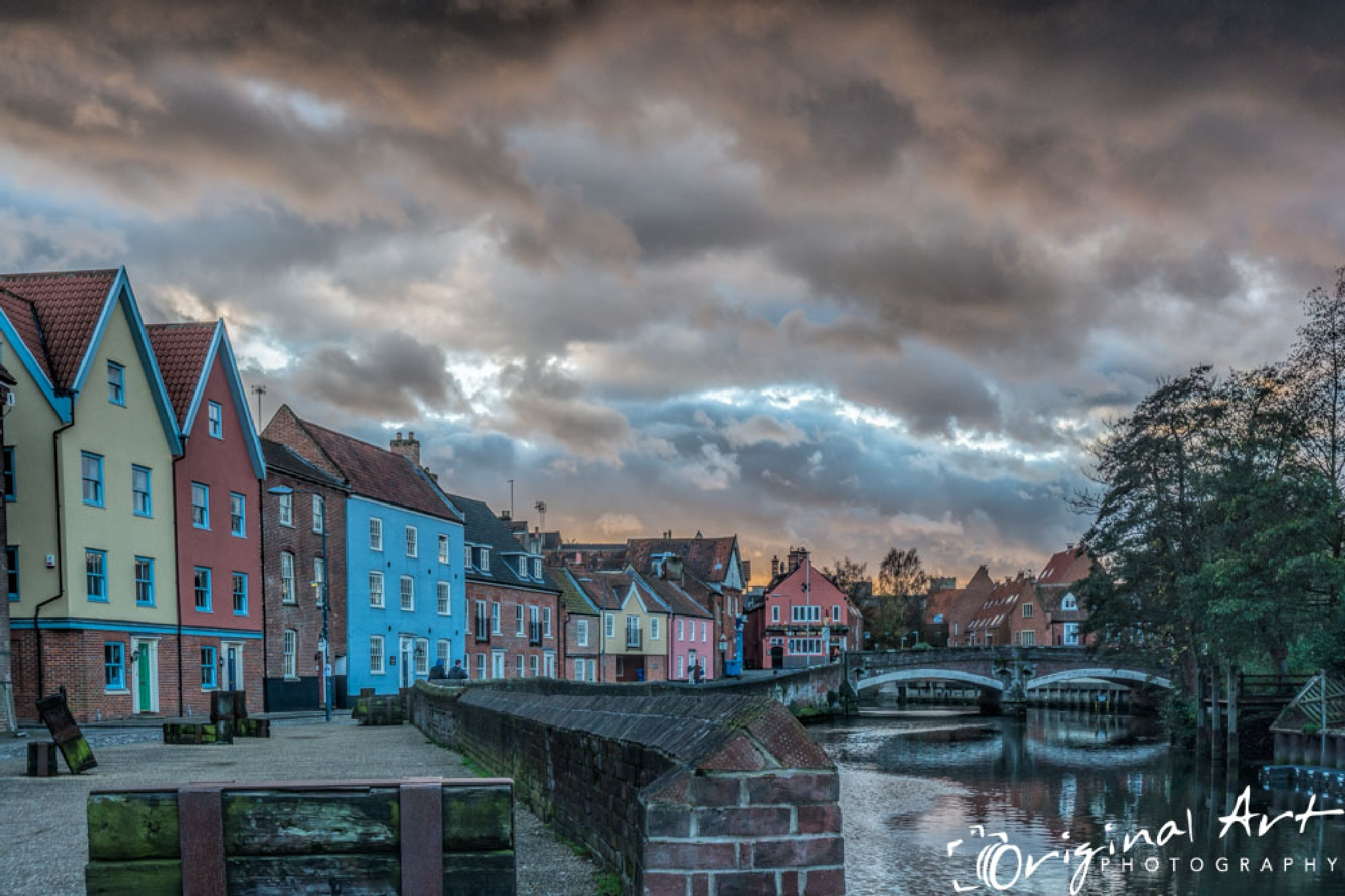 Sunset from Quay Side by JoeLenton