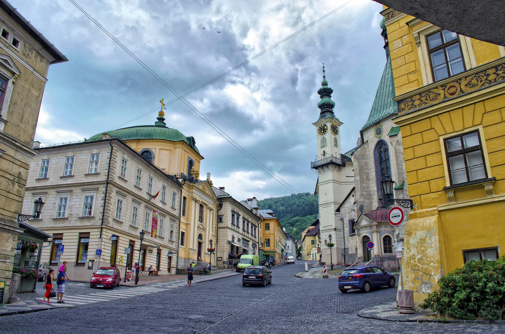 Banská Štiavnica by Michal Vojtko