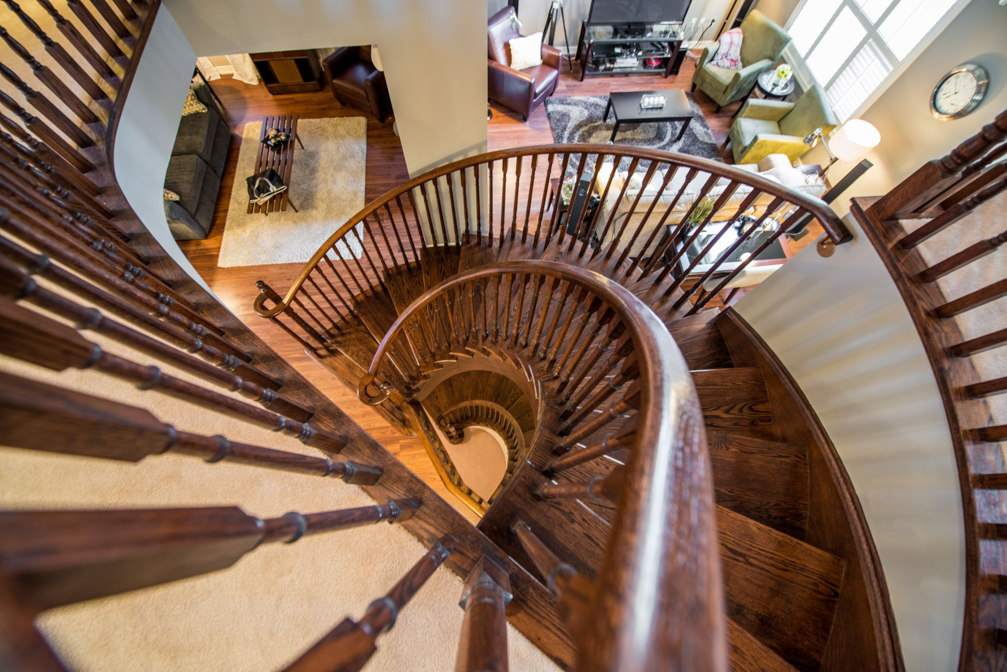 Staircase by Home Shots Real Estate Photography