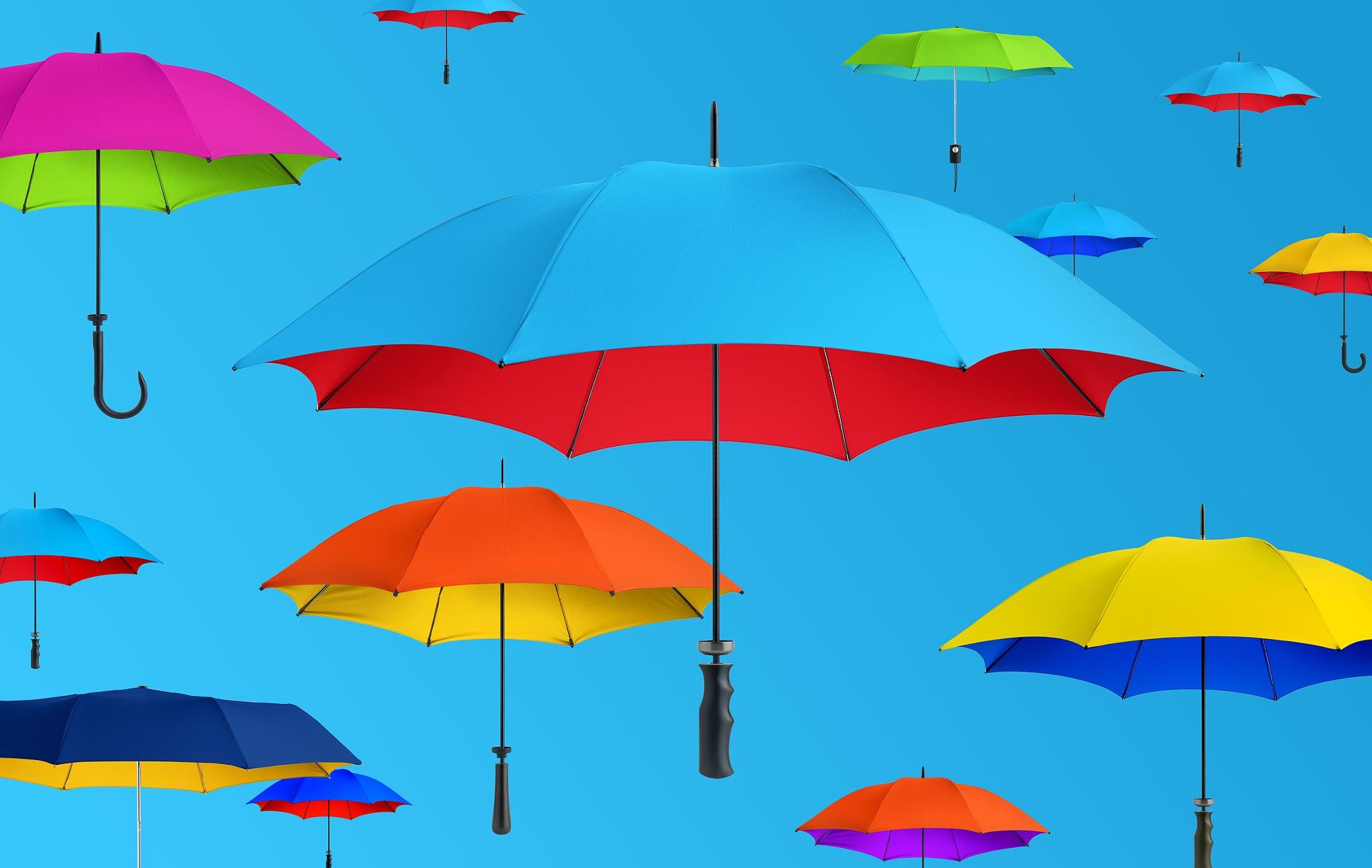 Umbrellas by christopherdoylephotography