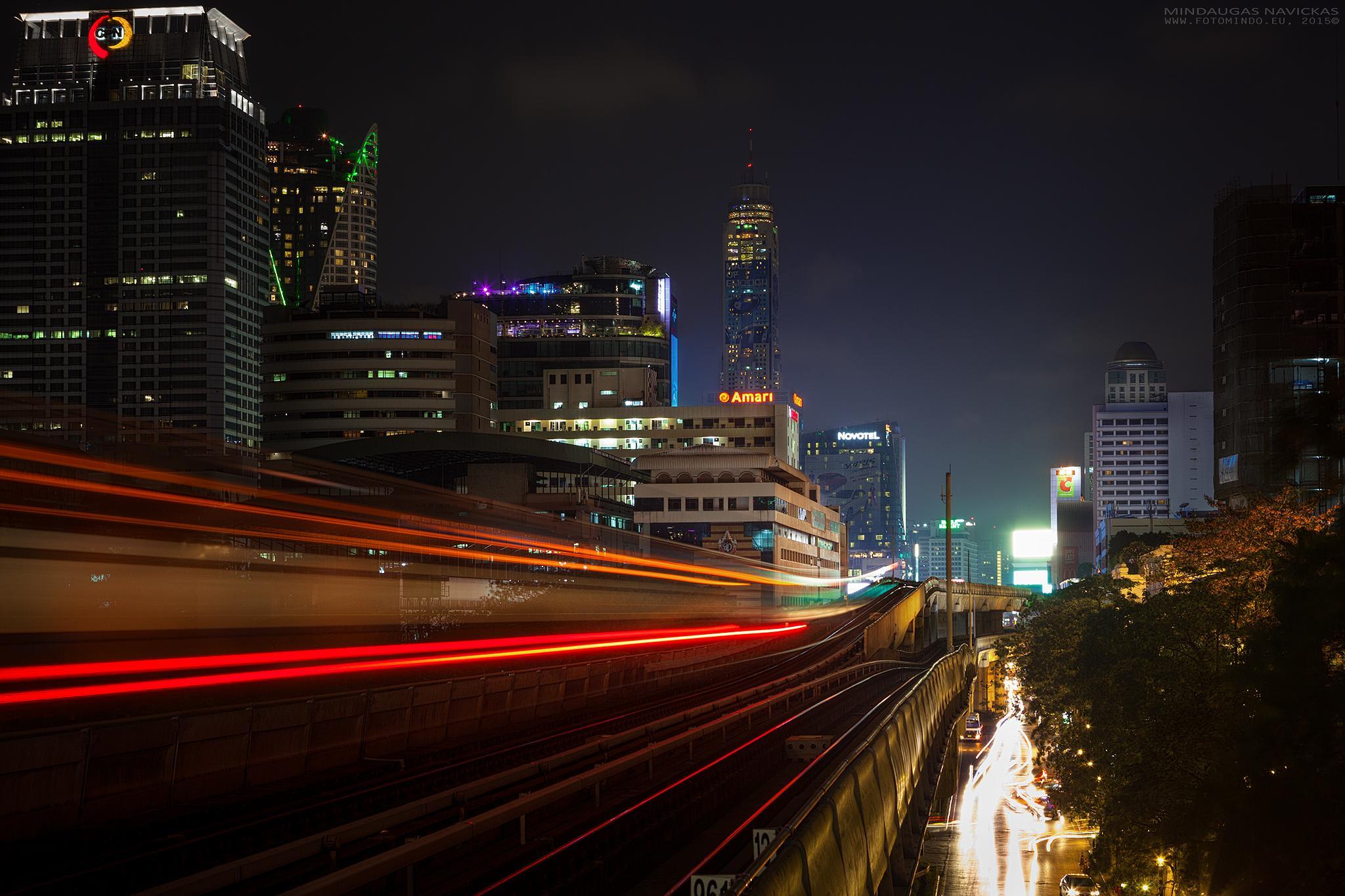 Bangkok by mindelioo