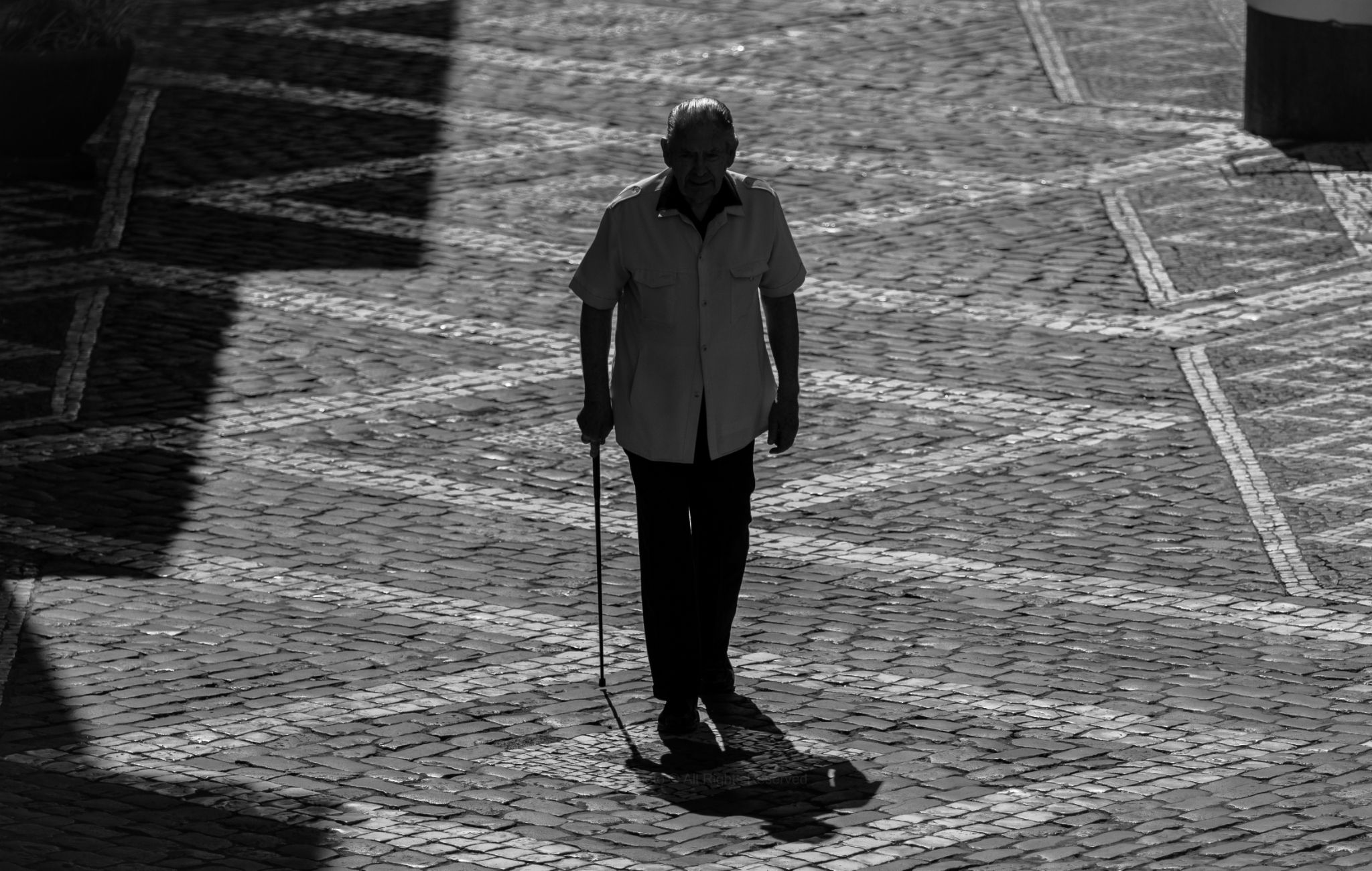Loneliness on the street ...  by Alvaro M. Photography