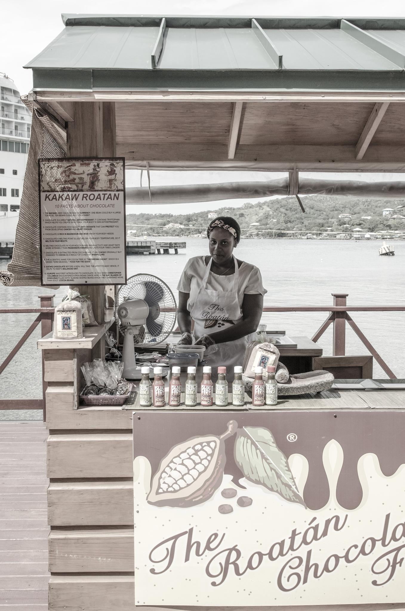 The Roatan Chocolate Factory by davidpinter
