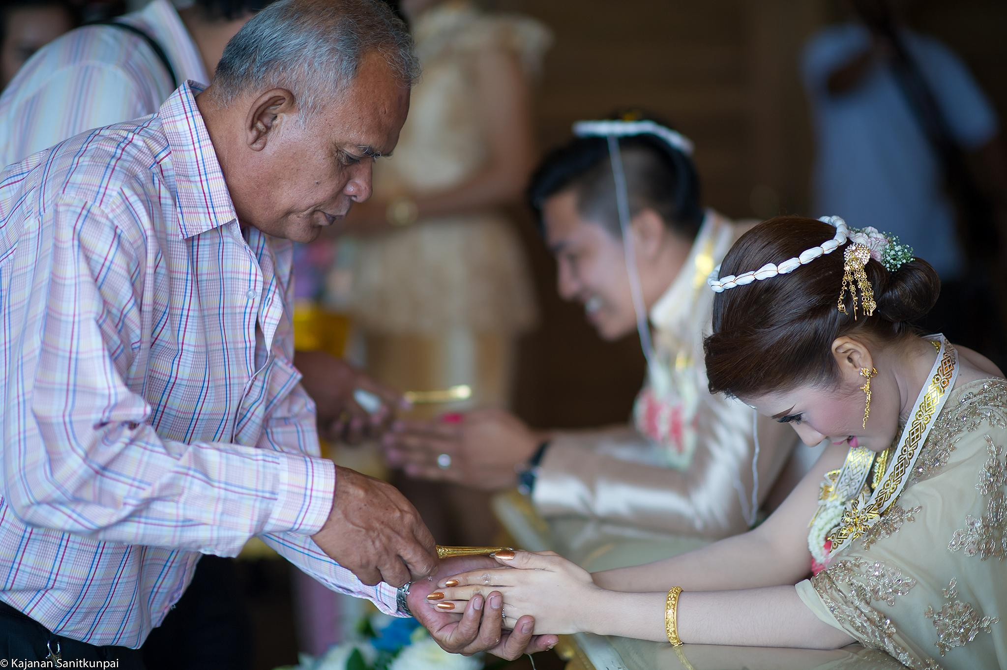 Thai Wedding  by kajanan