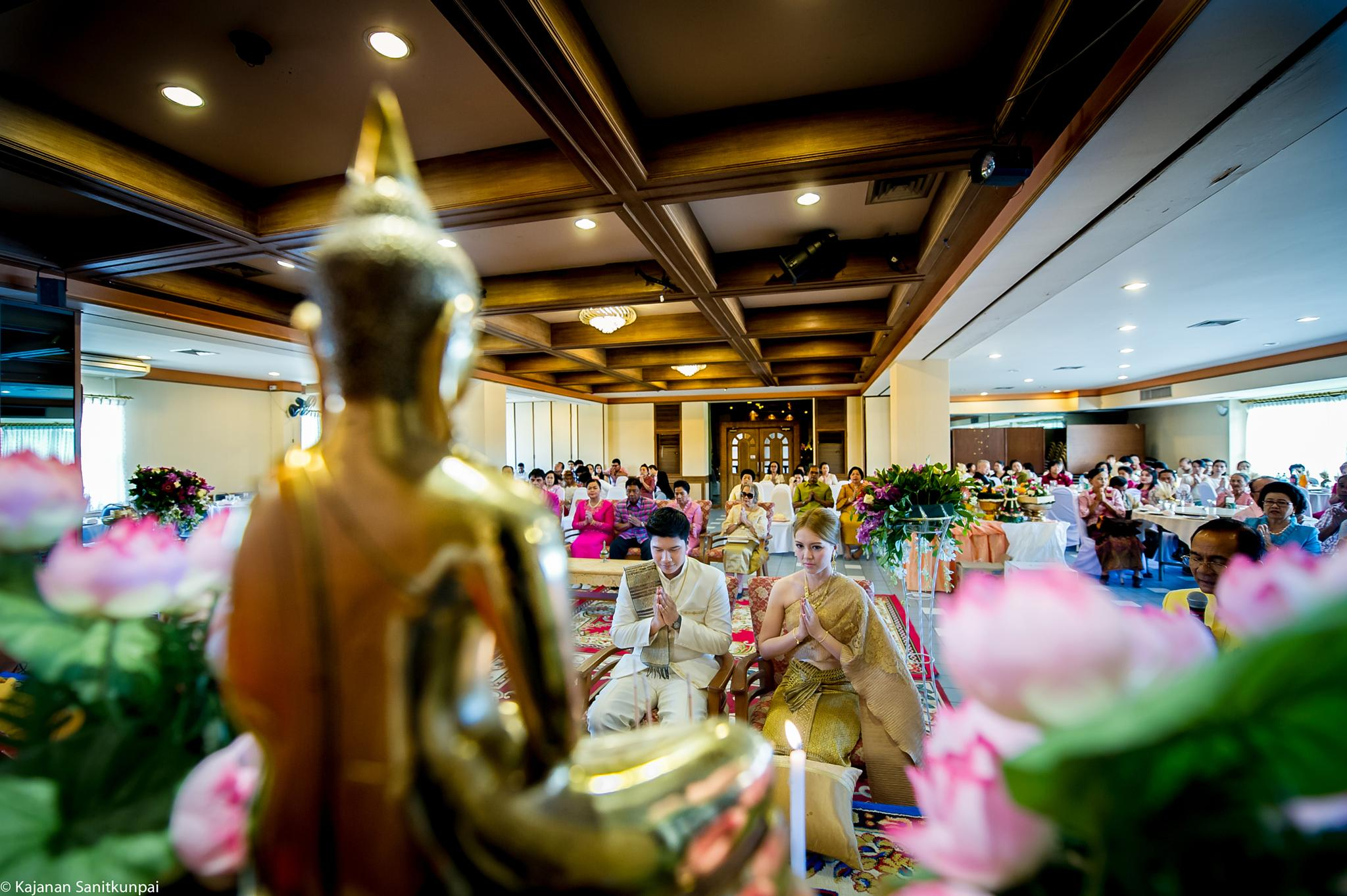 Thai Wedding by kajanan