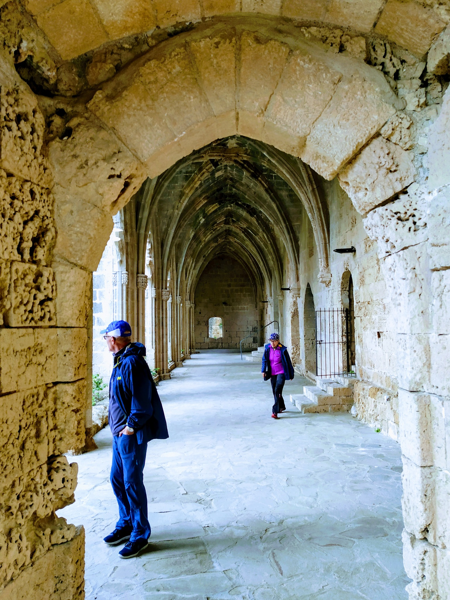 Photo in Architecture #old monastery #arcade