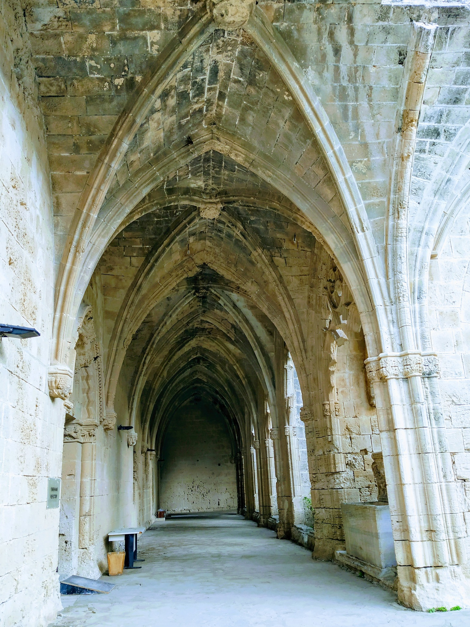 Photo in Architecture #old monastery #arcade #cyprus