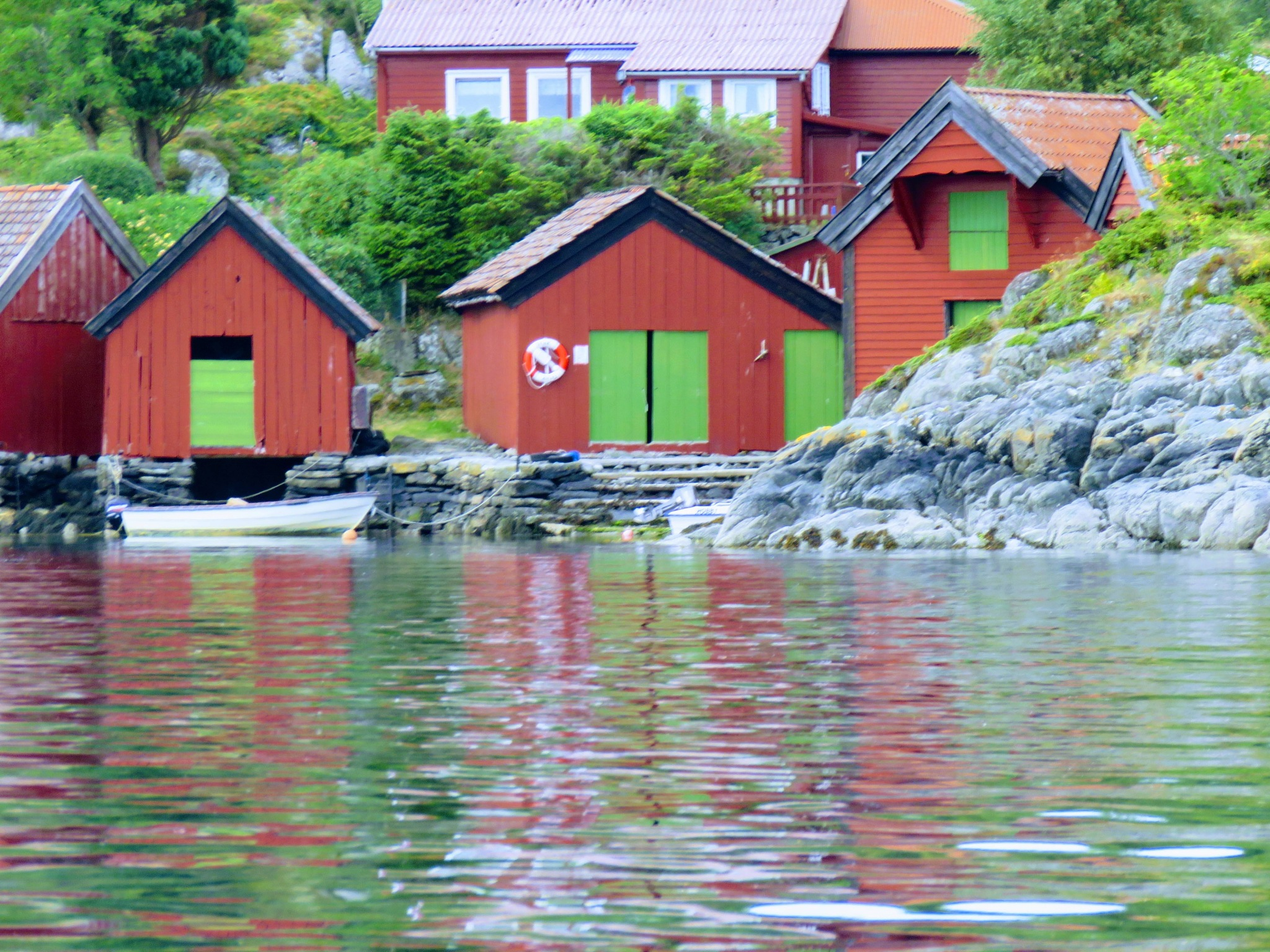 #Old boathouses by marit