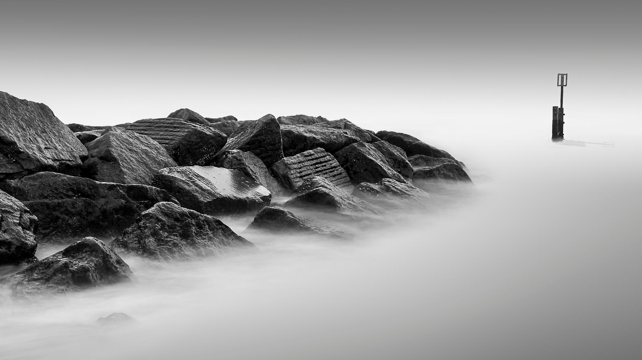 Southwold on the Rocks by Karl Shepheard Photography