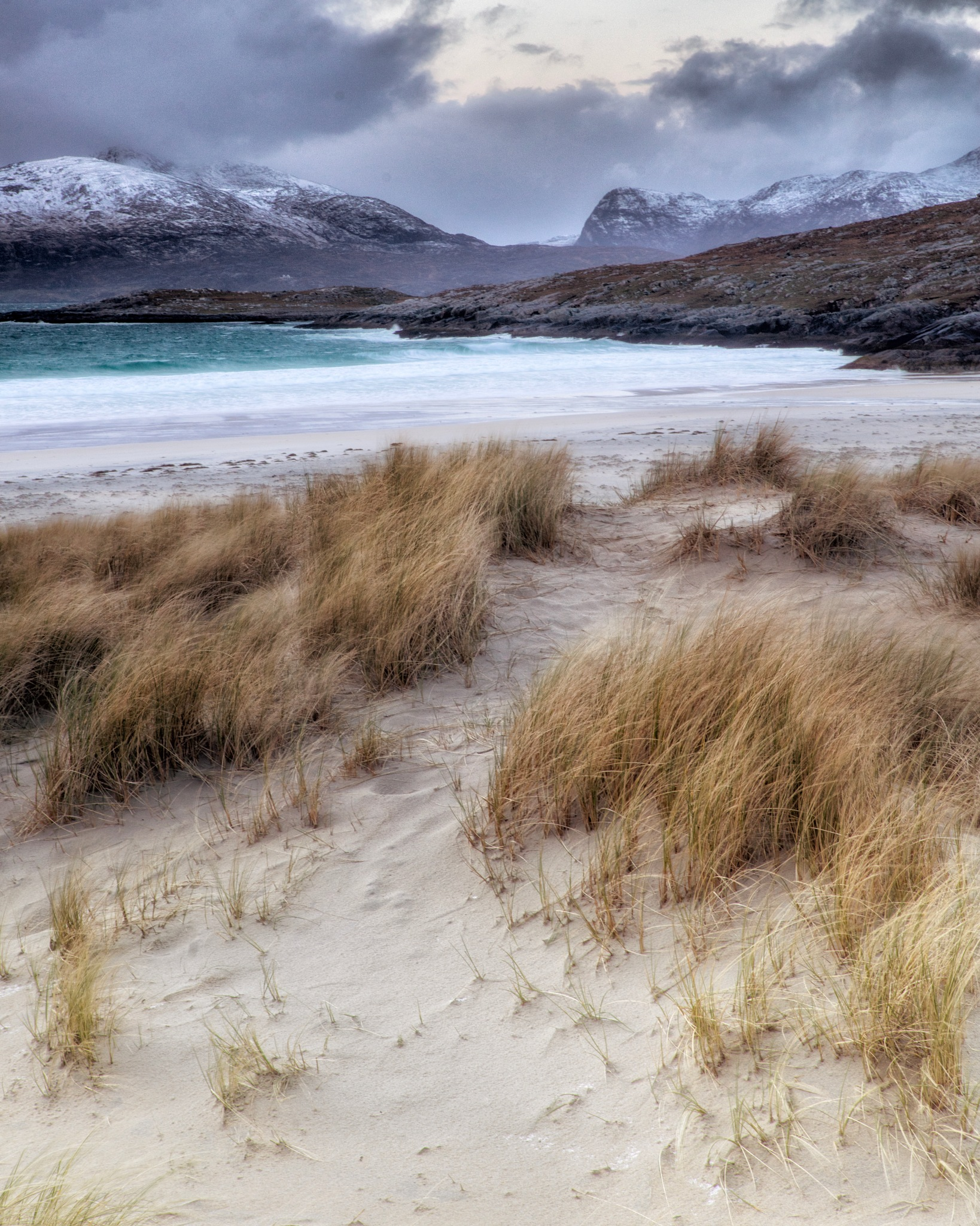 Luskintyre Dunes by Trevor Shelley