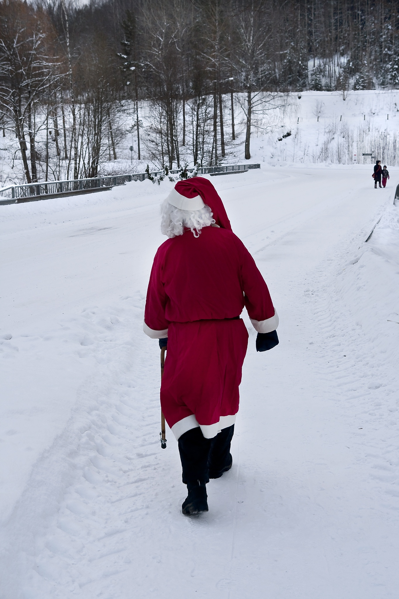 The reindeers have escaped and Santa needs a ride... by enrico.seri.16