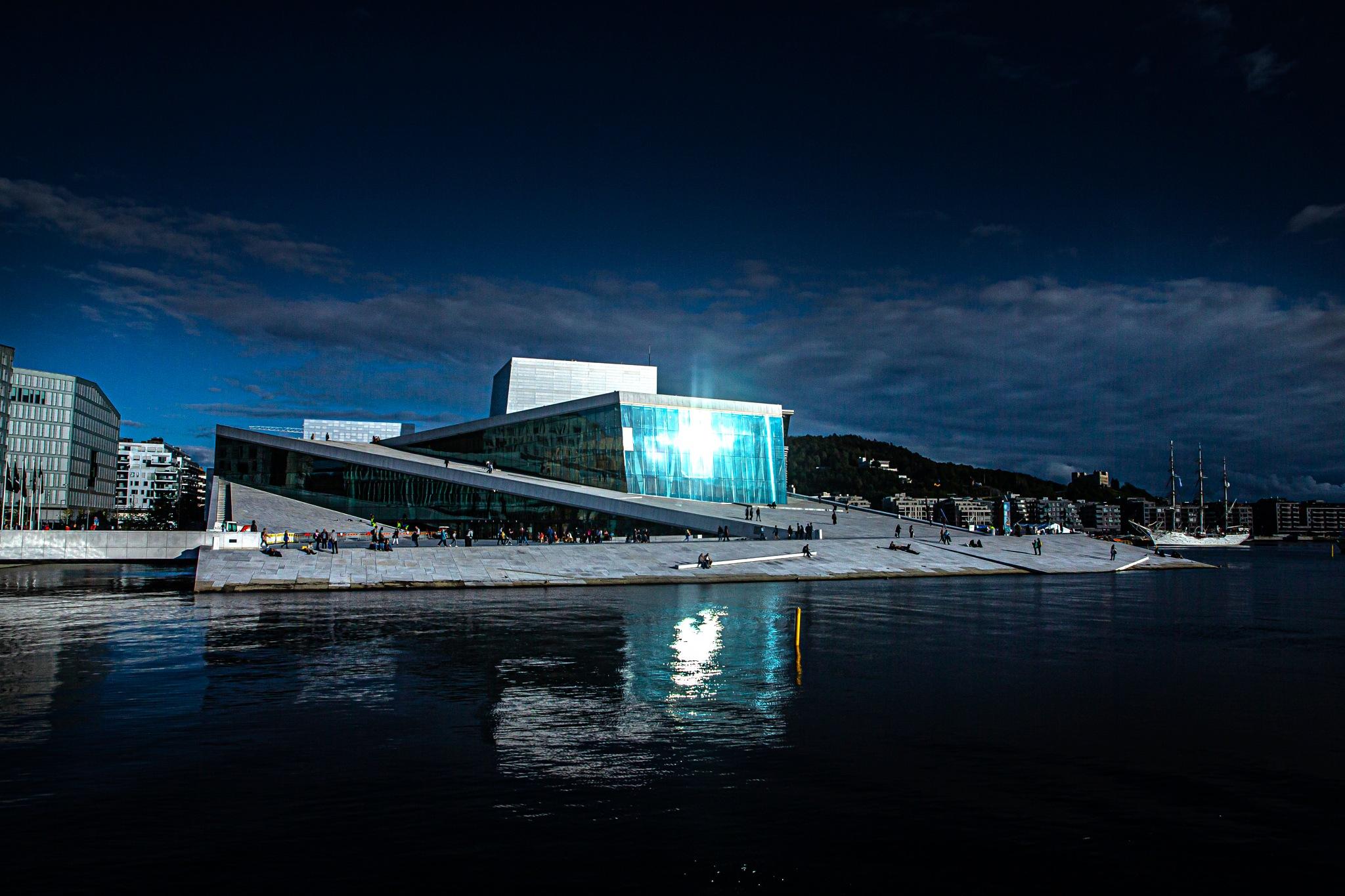 The Opera house ツ by Odd Rune Wang