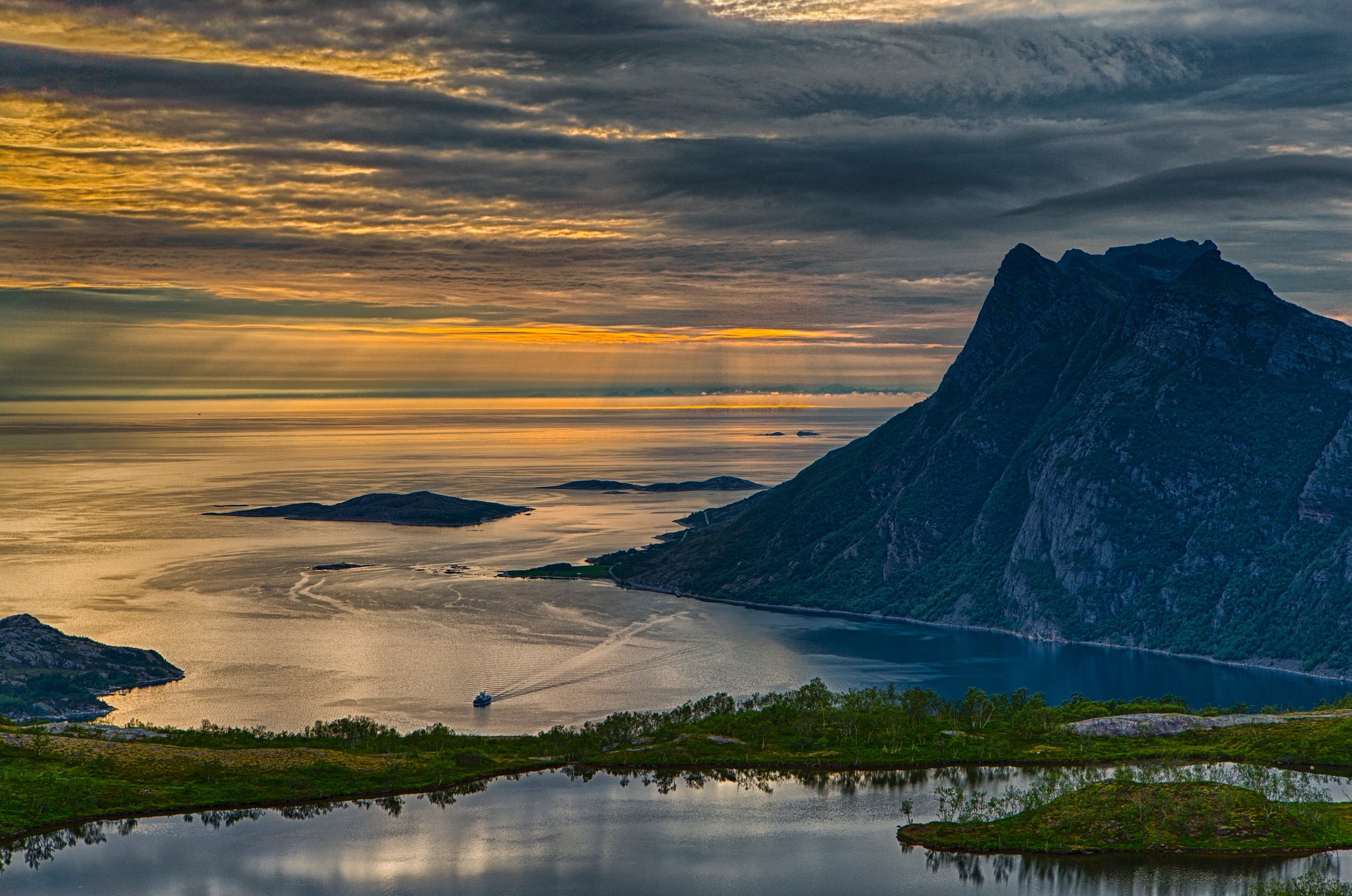 Sunset Kjerringøy ツ by Odd Rune Wang