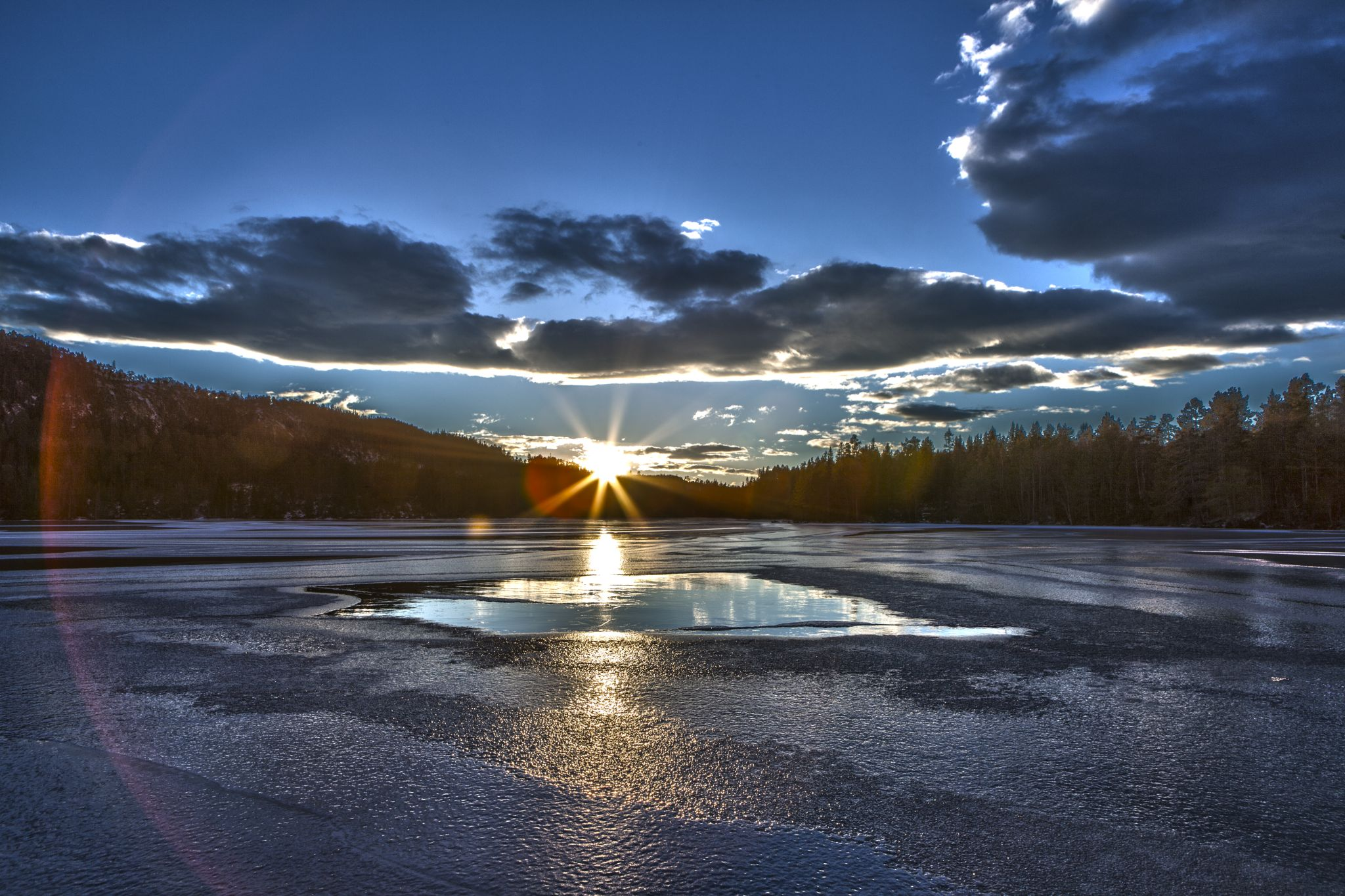 Sunrise & sunset by Odd Rune Wang