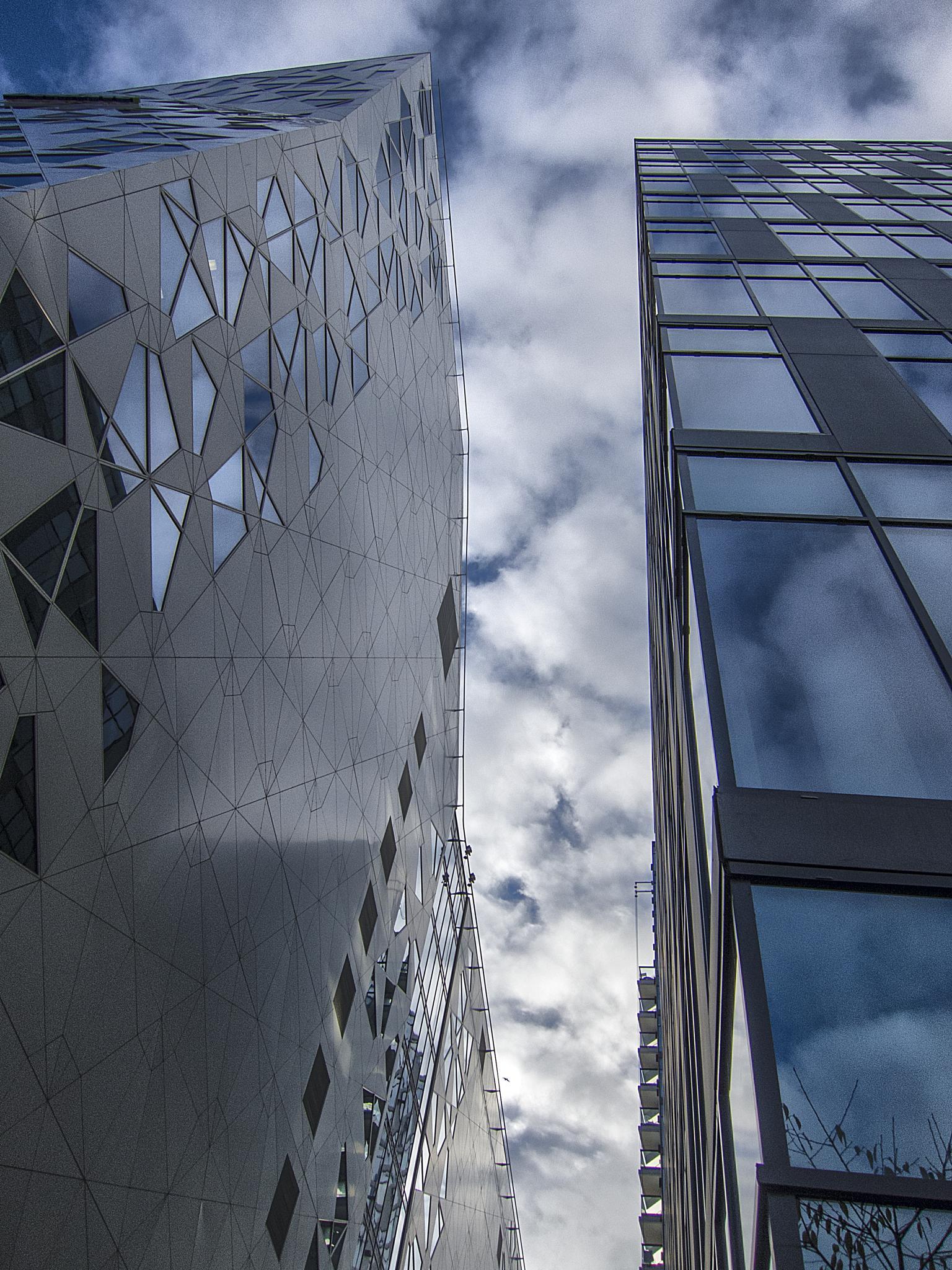 Oslo Skyline ツ by Odd Rune Wang