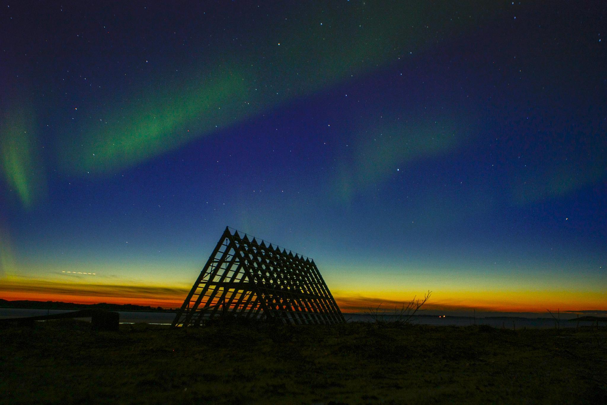 Photo in Astrophotography #foto w@ng #salt #sandhornøya #langsand #norway #aurora borealis #nordlys #odd rune wang #norge