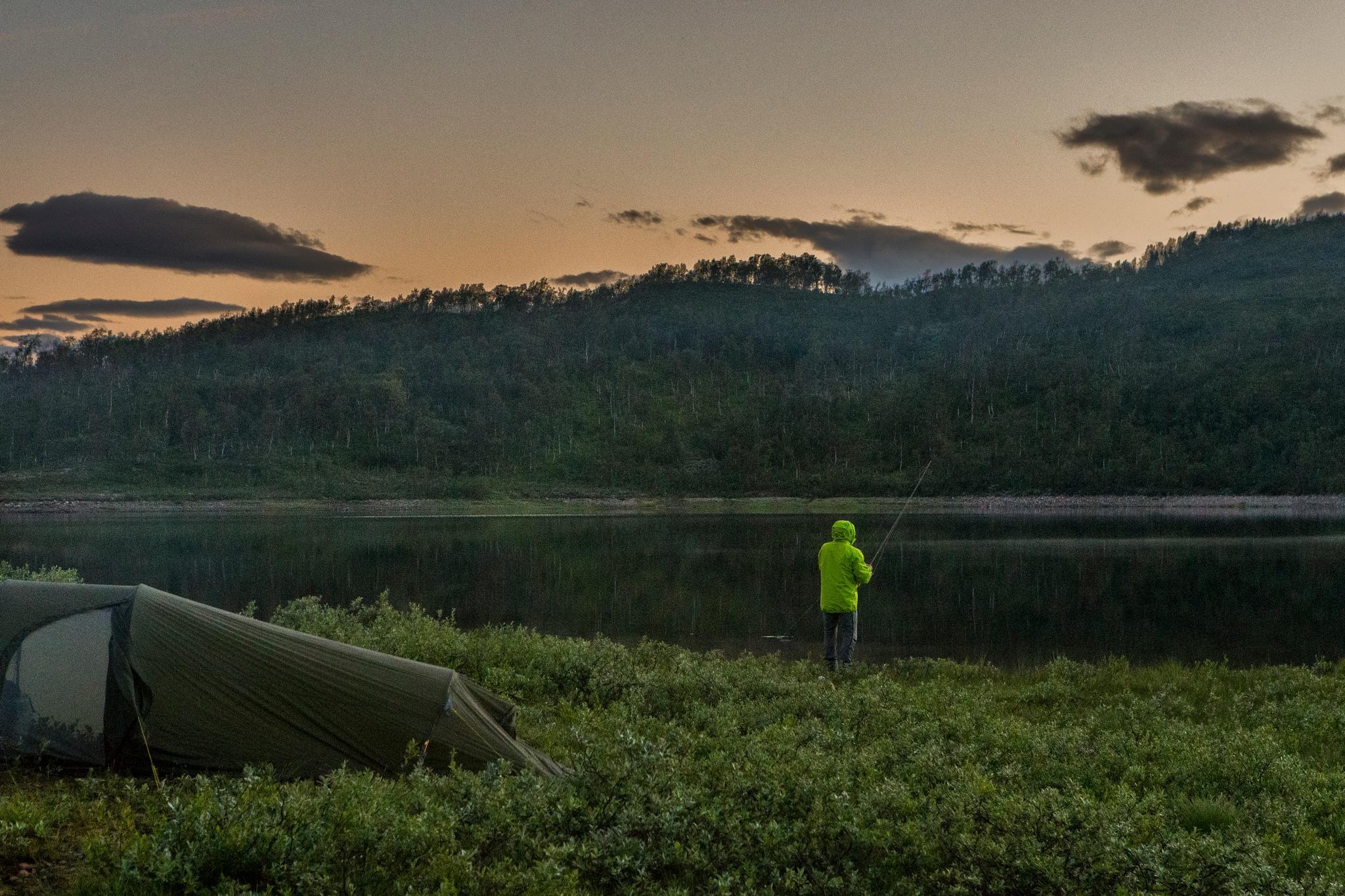 Camping life ツ by Odd Rune Wang