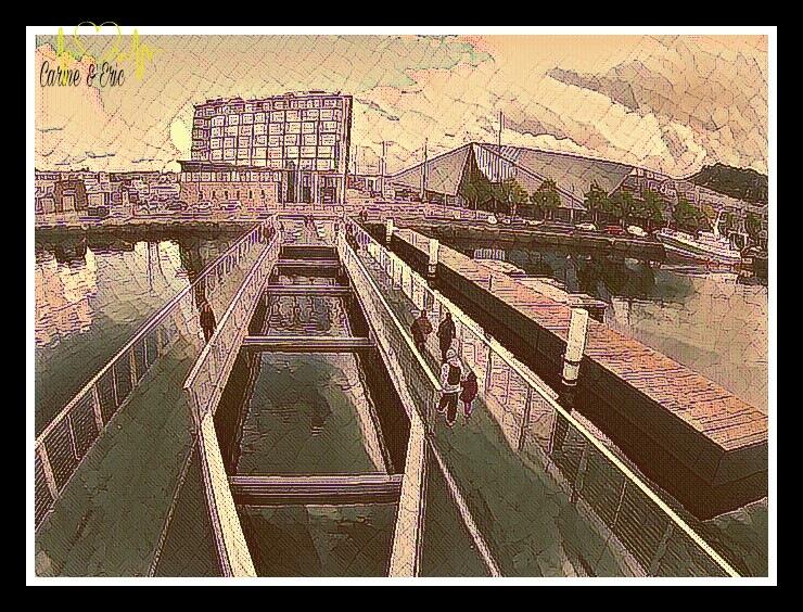 Cherbourg en Cotentin. ...the passerelle  by ςɑʀɨиє єт єʀɨς ɑʀтɨsтєs ρɦღтღɢʀɑρɦєs