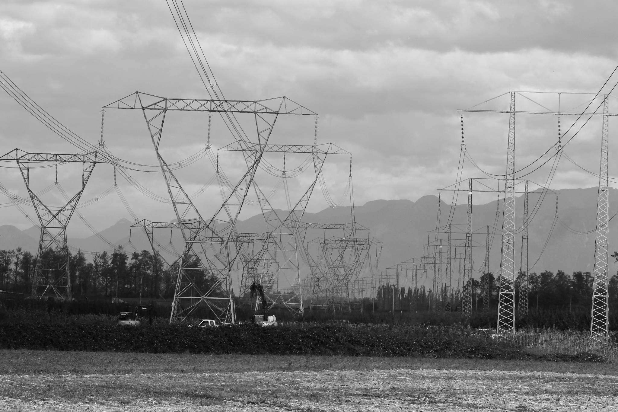 Power Lines. by henrywall63