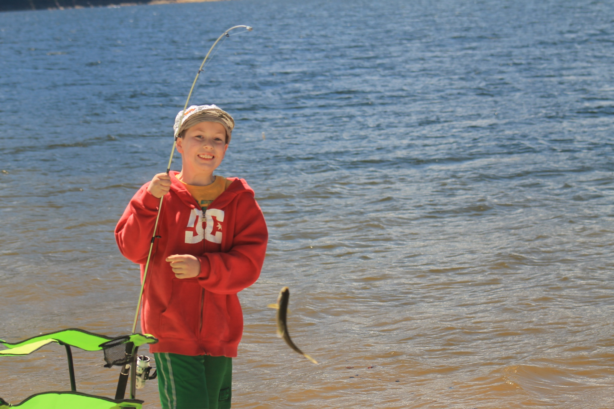 My Grandsons first Trout. by henrywall63
